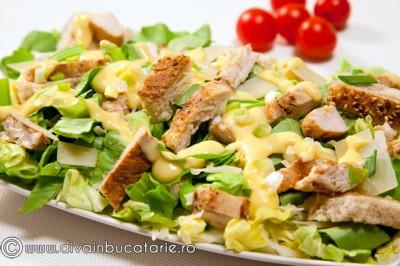 Reţeta zilei: Salata Caesar