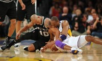 VIDEO Bătăi celebre în NBA: Kobe Bryant, lovit în faţă de Chris Childs