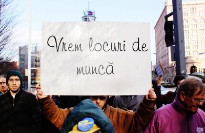731.000 de români sunt şomeri. Vasluiul, judeţul cu cea mai mare rată a şomajului din ţară