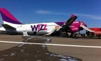 Avion Wizz Air, aterizare cu probleme la Roma. 165 de pasageri, la un pas de moarte
