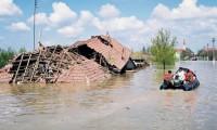 Judeţul Galaţi, devastat de inundaţii şi viituri. VEZI AICI proporţiile dezastrului