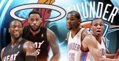 Cel mai bun duo din NBA. Durant si Westbrook versus Lebron si Wade