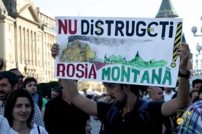 Parlamentul a decis: Roșia Montană, gata de exploatare. Protestatarii îi cer socoteală Avocatului Poporului