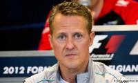 Sansa la viata! Michael Schumacher respira singur