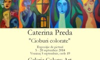 Toamna in culori la Bucuresti. Expozitie de pictura Caterina Preda