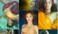 Beyonce, însărcinată cu gemeni, aproape goală