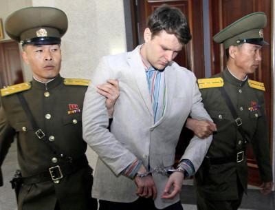 Studentul american eliberat după ce a fost ţinut în detenţie un an şi jumătate în Corea de Nord a murit