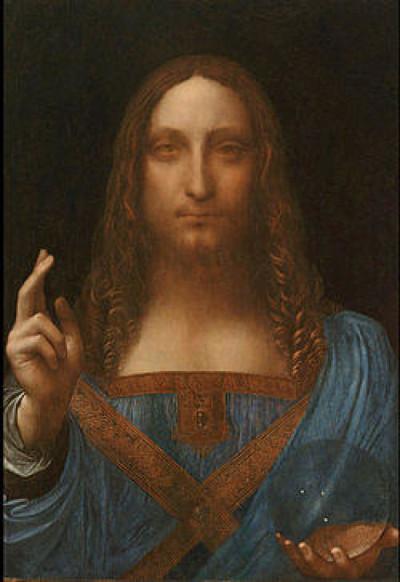 """Capodopera lui da Vinci, """"Salvator Mundi"""", vândută cu un preț record la licitaţie: 450 milioane de dolari"""