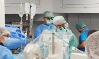 """Pacientă cu """"aortă de porțelan"""", aortă ascendentă integral calcificată, tratată minim - invaziv prin procedura TAVI Transapical"""