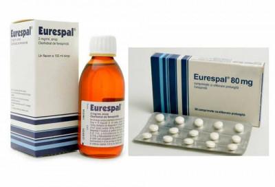 Se mai găsește Eurespal, medicamentul care poate provoca aritmii, în farmacii?