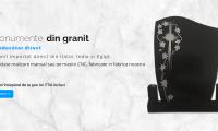 Monumente funerare, fotoceramică şi plăci comemorative realizate din marmură şi granit